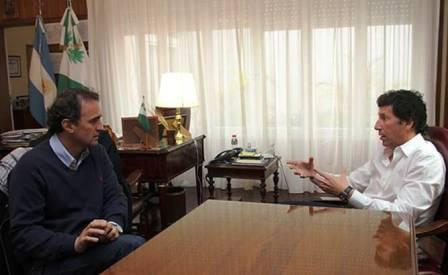 Posse se reunió con el intendente de San Martín Gabriel Katopodis