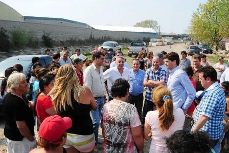 Tigre comienza la obra para extender la red de gas en Basualdo