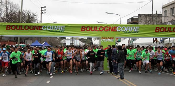Récord de participantes en la maratón Boulogne Corre