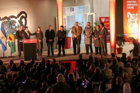 Tigre inauguró la segunda etapa de su Centro Universitario para recibir a más estudiantes