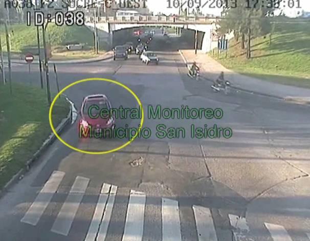 Las Cámaras de Seguridad de San Isidro ayudan a recuperar un vehículo robado