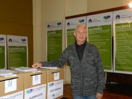 Director General de Participación Ciudadana y Transparencia, Hugo Peretti.
