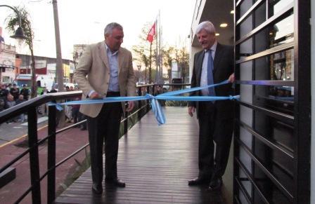 Los municipios de San Fernando y Tigre inauguraron una nueva posta policial en la zona del Canal