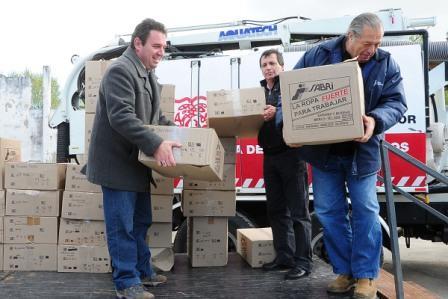 Tigre entregó equipamiento a los trabajadores municipales