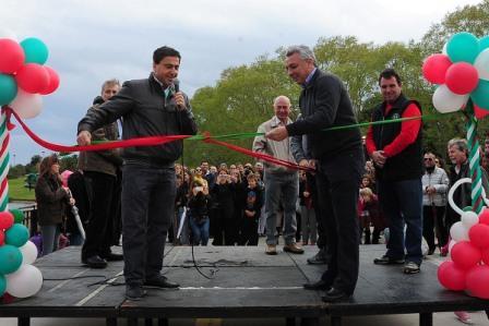 Se inauguró un nuevo acceso al camino Bancalari-Benavidez