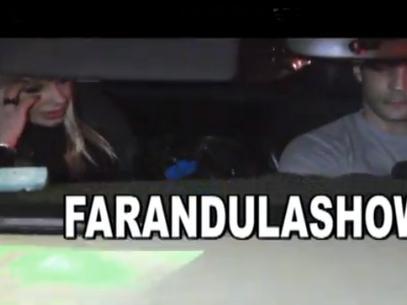 Mónica Farro y Leonardo Fariña juntos