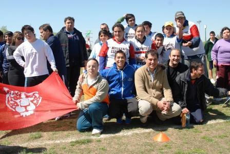 Se inició el torneo de atletismo especial en el Polideportivo Central de Tigre