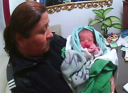 Un Bebé abandonado en San Fernando es rescatado en la vía pública por una patrulla de Protección Ciudadana