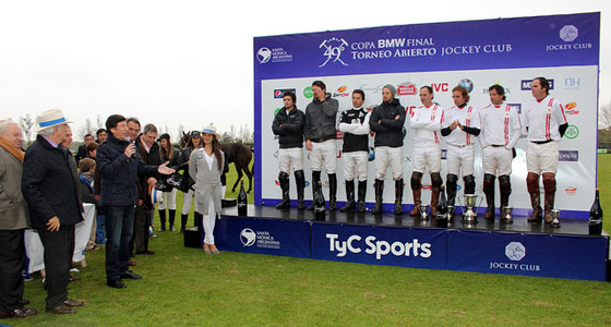 Se jugó la final del Abierto de Polo en el Jockey Club.