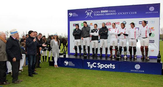 Se jugó la final del Abierto de Polo en el Jockey Club
