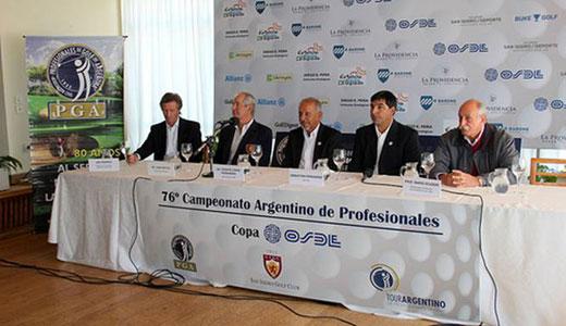 76º Campeonato Argentino de Profesionales del Golf