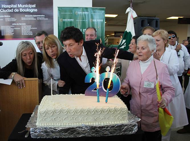 El hospital de Boulogne festejó su 20 aniversario
