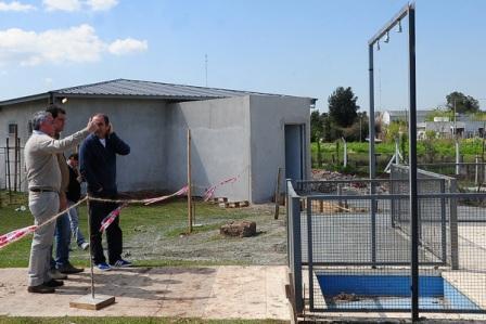 Tigre avanza con la climatización del natatorio en el Polideportivo Zabala