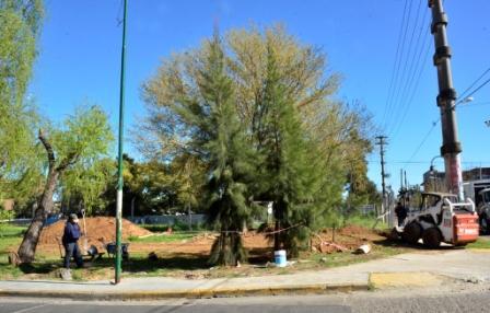Comenzaron las obras de la Posta Policial N°5 en el barrio Fate de San Fernando