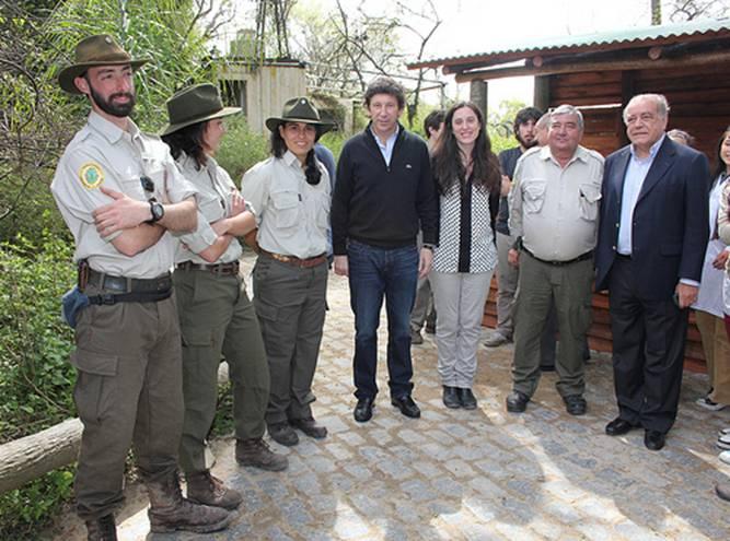 Guardaparques municipales, Posse, Bárbara Gasparri, Willy Bryant y Carlos Prassel
