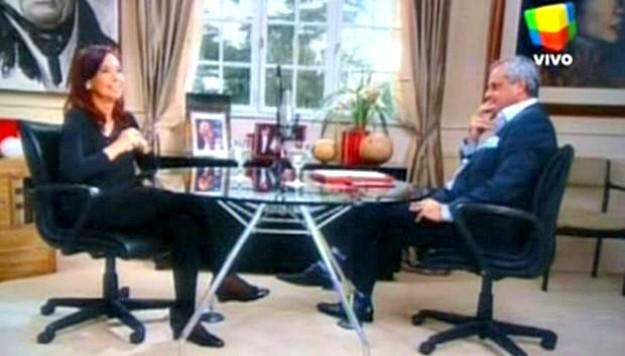 Cristina Fernández repasó diversos temas de su gobierno en una entrevista con Jorge Rial