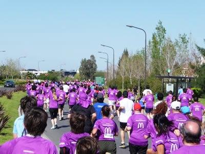 Espectacular Maratón organizada por la Asociación Vecinal Nordelta
