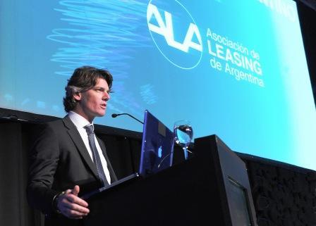 El Presidente de la Asociación Argentina de Leasing (ALA), Nicolás Scioli