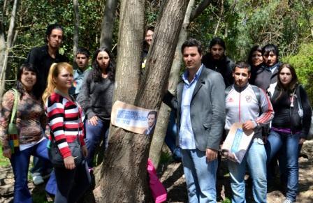 Santiago Cafiero llevó a cabo una actividad de concientización sobre la preservación y la promoción de un medio ambiente