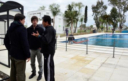 Ultiman detalles para la inauguración de la segunda pileta pública climatizada de San Fernando