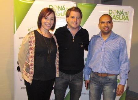 Alex Campbell abrió Puntos Verdes para la recolección diferenciada de residuos