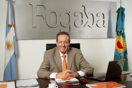 el presidente del FOGABA, Osvaldo Rial