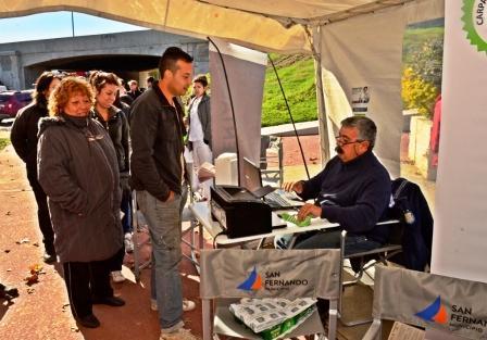 Actividades de prevención y promoción en el Día Mundial de la Diabetes en San Fernando