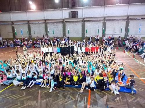 En San Isidro compitieron más de 350 gimnastas