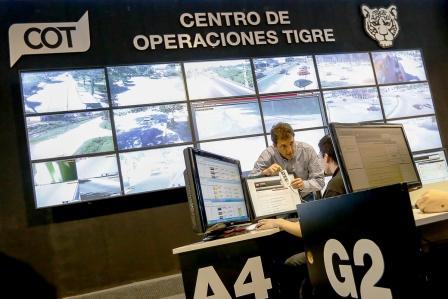 Sergio Massa recorrió las instalaciones del Centro de Operaciones Tigre