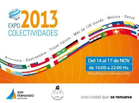 Vuelve la Expo Colectividades a San Fernando