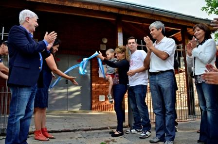 Luis Andreotti reinauguró el Centro de Salud María Isabel