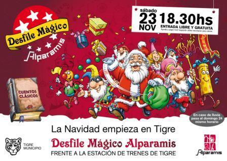 Desfile mágico Alparamis