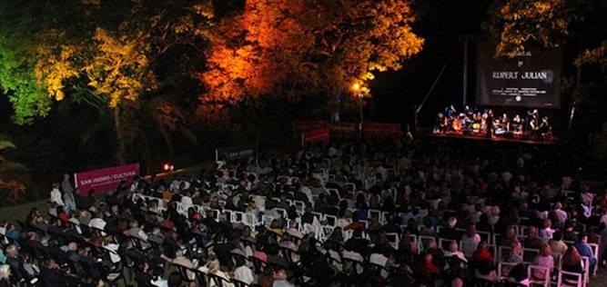 El Fantasma de la Opera dio inicio al Festival de Cine y Música de San Isidro