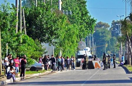 San Fernando tras la ocupación de viviendas y la intención de saqueos