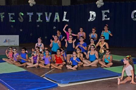 Se realizó en San Fernando el Festival de Gimnasia 2013