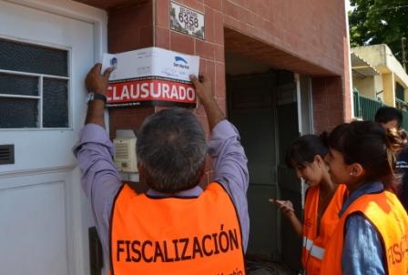El Municipio de San Martín clausuró una obra en construcción por falta de habilitación