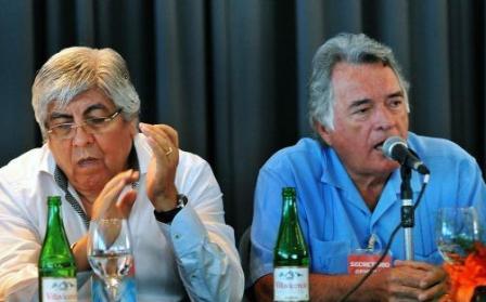 Barrionuevo y Moyano en Mar del Plata
