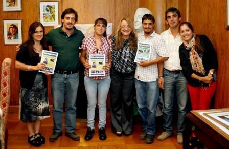 Alicia Kirchner recibió a cooperativistas de Tigre