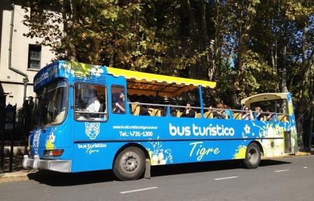 Un bus para explorar Tigre a fondo