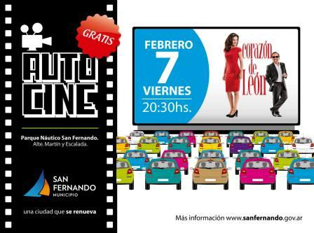 Este verano vuelve el Autocine gratis, en San Fernando