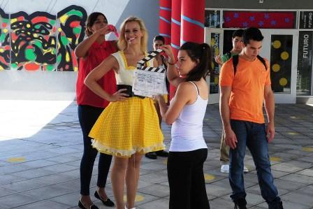 """Tigre y Cecilia """"Caramelito"""" Carrizo contra el """"Bullying"""""""