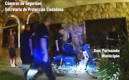 Intentó robar una moto, pero fue detenido por las patrullas municipales de San Fernando
