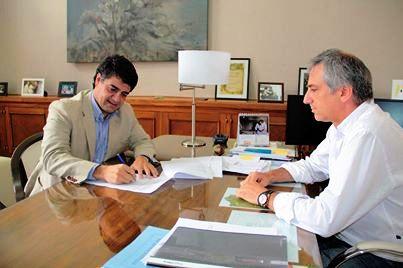 Jorge Mari se reunió con José Eseverri