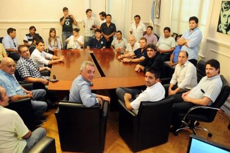 Reunión con los sindicatos de Zona Norte en Tigre