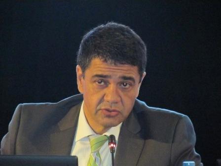 Jorge Macri durante la reunión de intendentes de la Region Metropolitana Norte