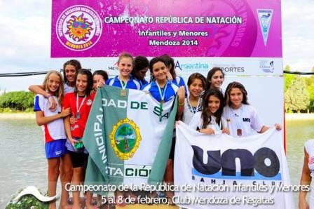 San Isidro, subcampeón en el torneo nacional de natación