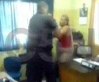 Denuncian brutal agresión de un policía a una mujer en la comisaría de San Fernando