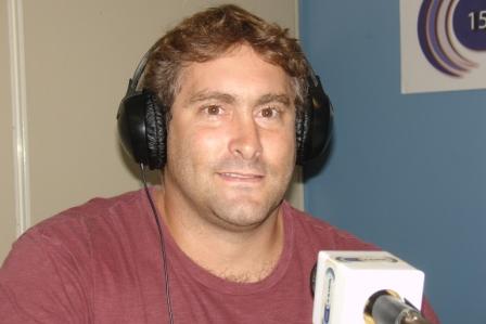El nuevo titular del Club San Fernando, el ex rugbier Lucas Bolla