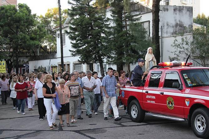 En Beccar se celebró la fiesta patronal de la virgen de Lourdes