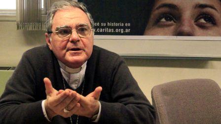 """Monseñor Ojea insiste en privilegiar la """"deuda social"""", recrudecida por la pandemia"""